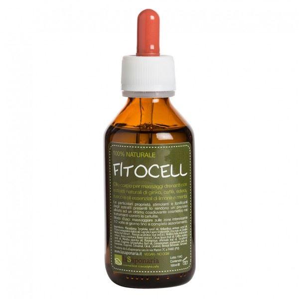 La saponaria fitocell olio corpo anticellulite 100ml