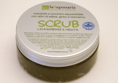 LaSaponaria scrub lemongrass e menta