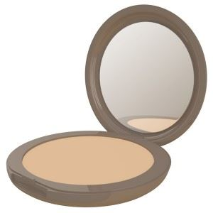Neve cosmetics flat perfection medium warm fondotinta compatto
