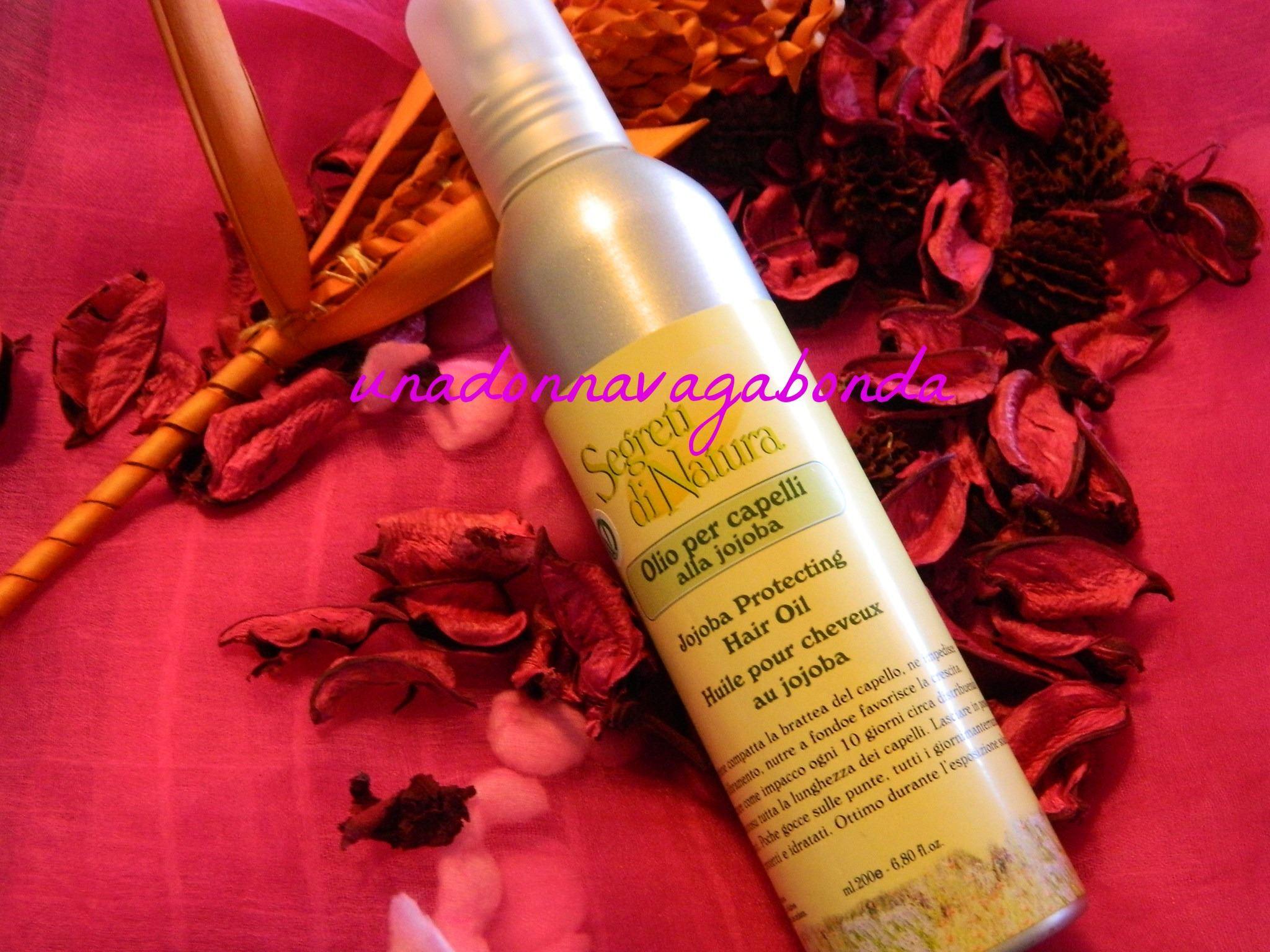 Segreti di natura olio per capelli alla jojoba 200ml