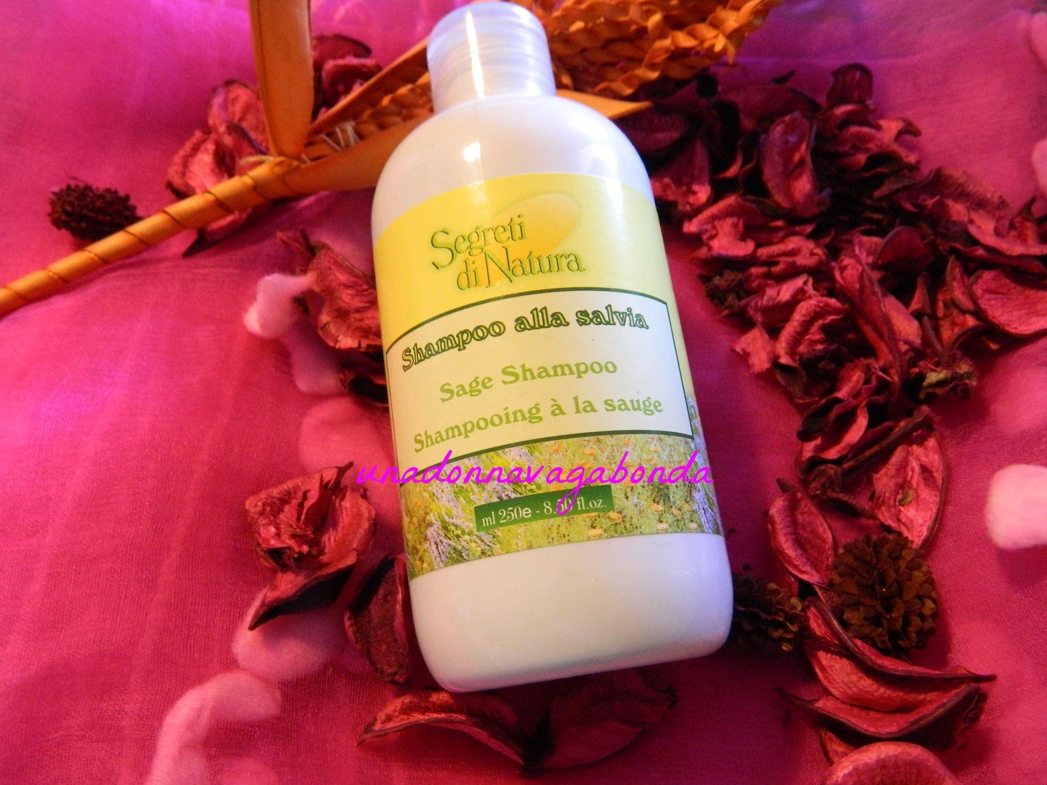 Segreti di natura shampoo alla salvia 250ml