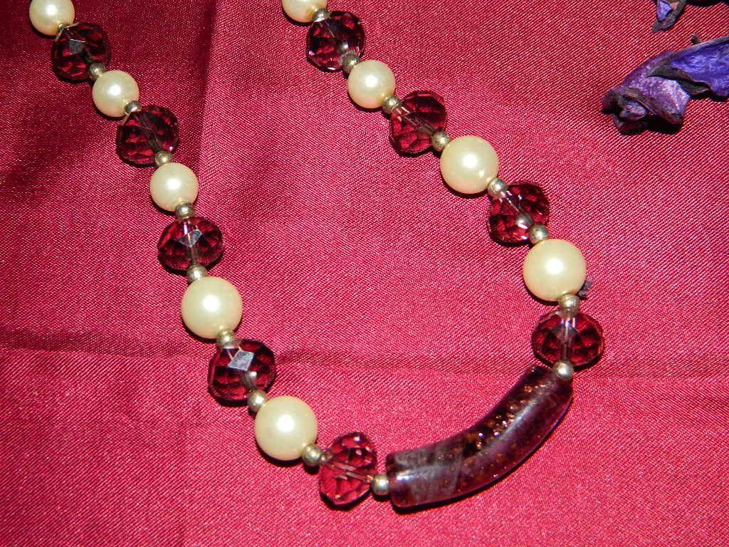 Collana perla sophistique