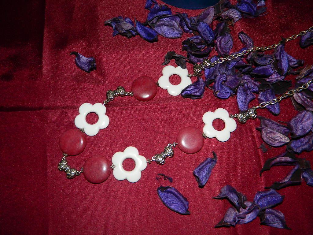 collana porpora flower