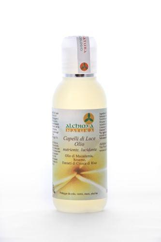 Alchimia natura capelli di luce olio nutriente lucidante