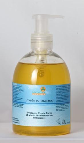 Alchimia Natura Mediterraneo detergenti mani e corpo idratante,dermoprotettivo,rinfrescante 300ml