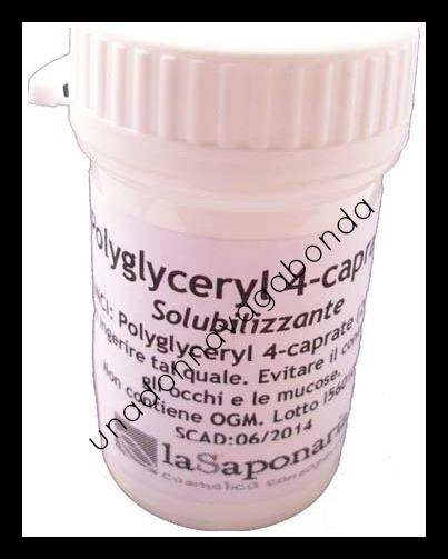 La saponaria Polyglyceryl 4-caprate