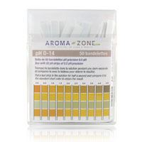 Aroma Zone strisce indicatrici ph 50 pezzi