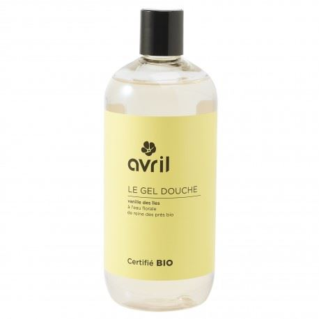Avril gel doccia vaniglia bio 500ml