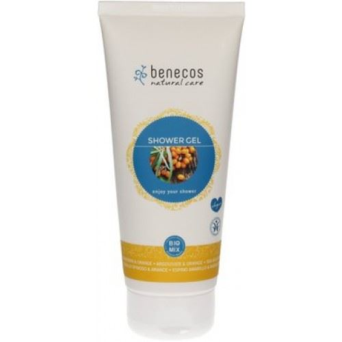 Benecos shower gel olivello spinoso e arancio