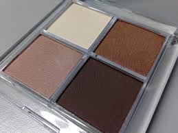 Benecos natural eyeshadow quad veri colori
