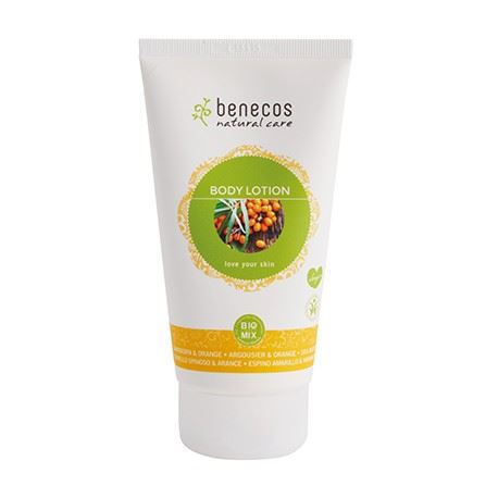 Benecos Natural Body Lotion olivello spinoso e arancio