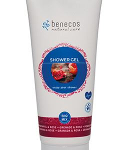 Benecos shower gel melograno e rosa