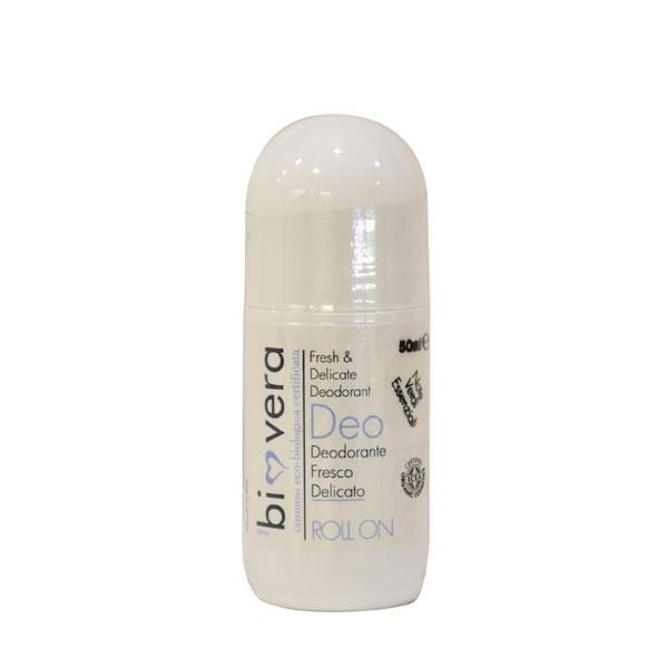 Biovera deo roll on deodorante fresco delicato