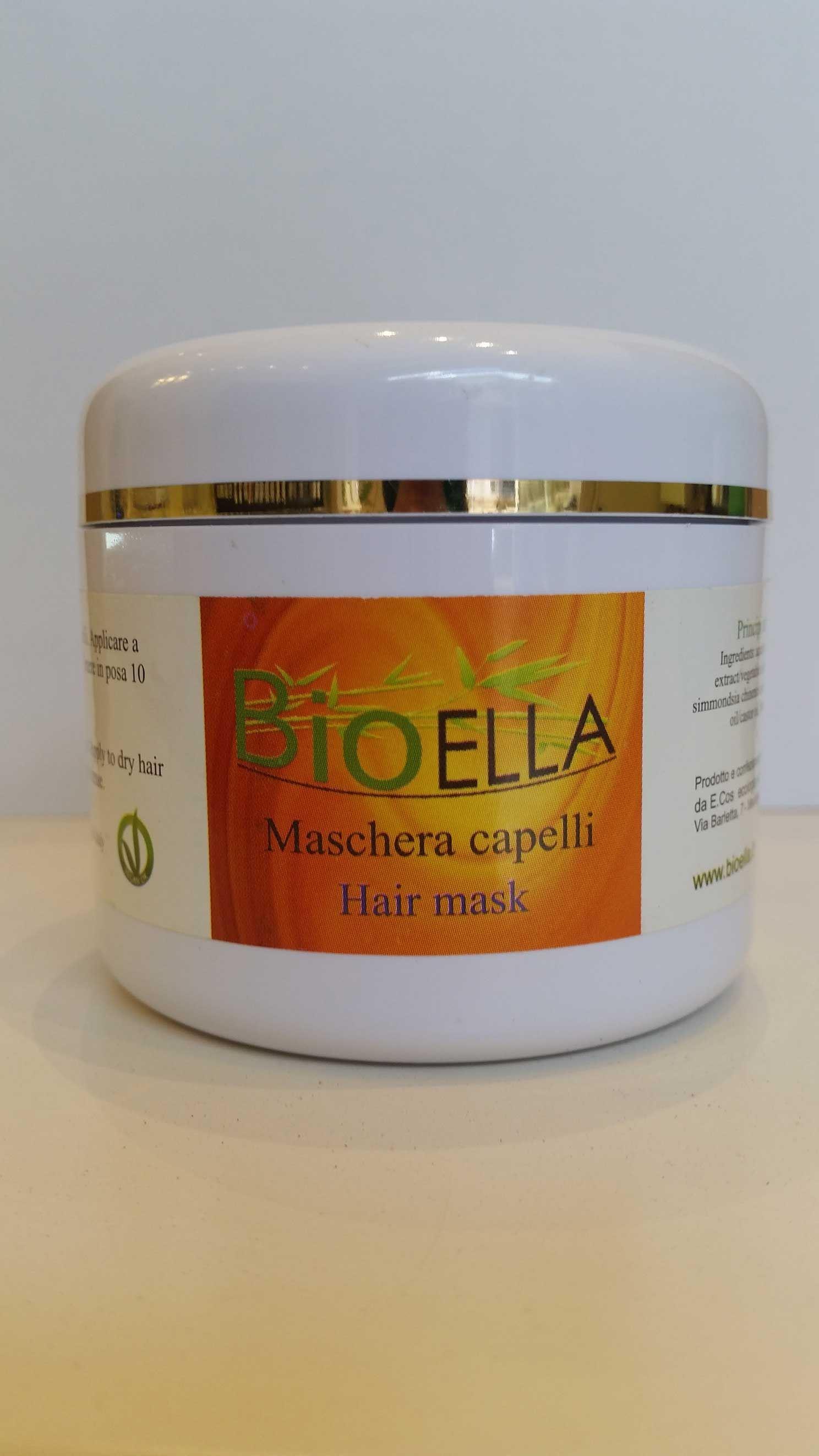 Bioella maschera capelli
