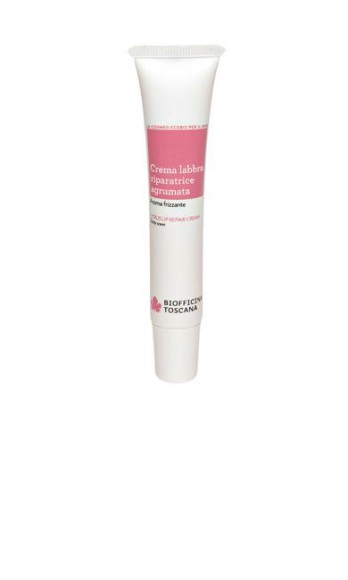 Biofficina Toscana crema labbra riparatrice agrumata 15 ml