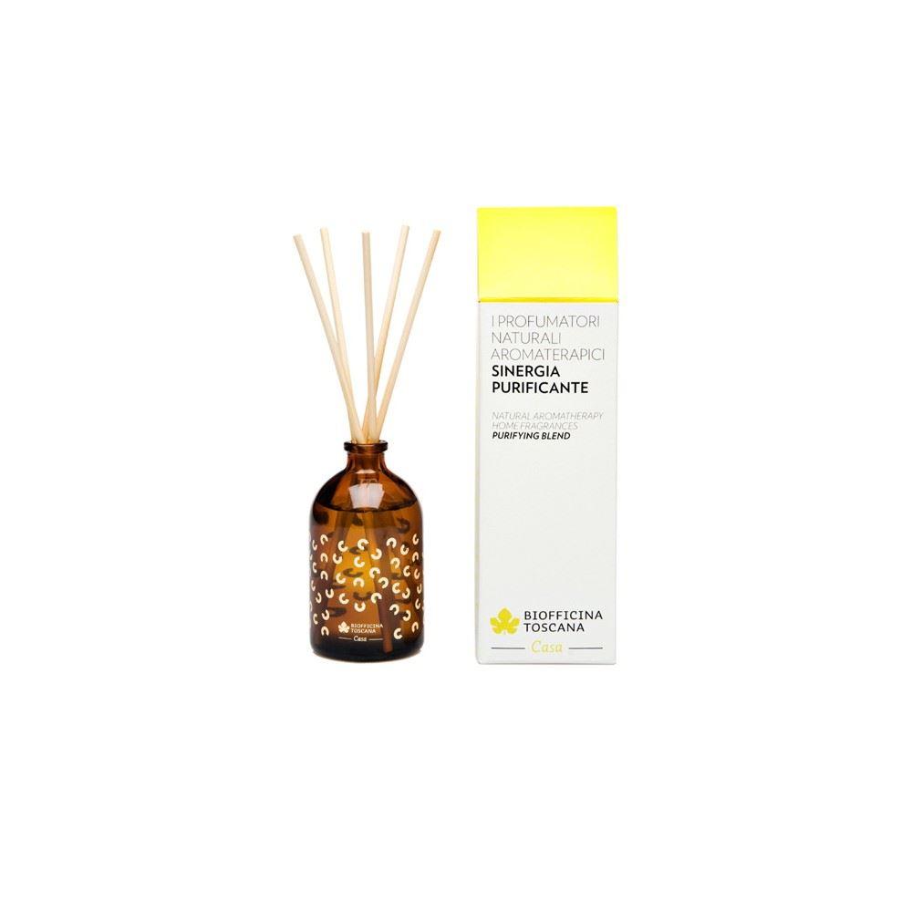 Profumatore naturale aromaterapetico sinergia  purificante 100 ml