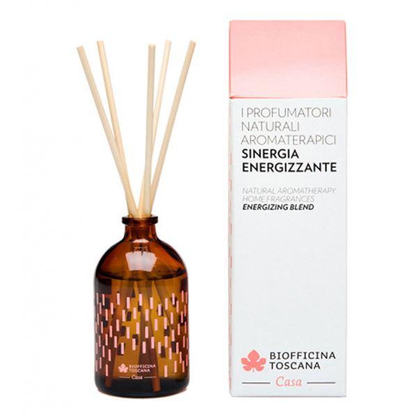Profumatore naturale aromaterapetico sinergia energizzante 100 ml