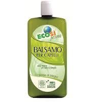 Ecosi balsamo capelli formato famiglia con tea tree oil bio 500ml