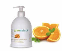 Green Natural detergente delicato mani e corpo 500ml