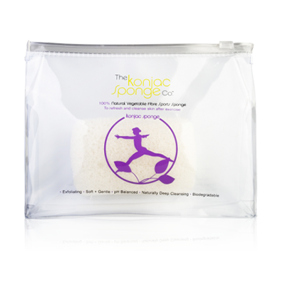 LILAC LADY SPORTS SPONGE 100% PURE KONJAC