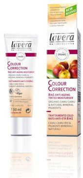 LAVERA cc cream colour correction trattamento anti et colorato 8 in 1