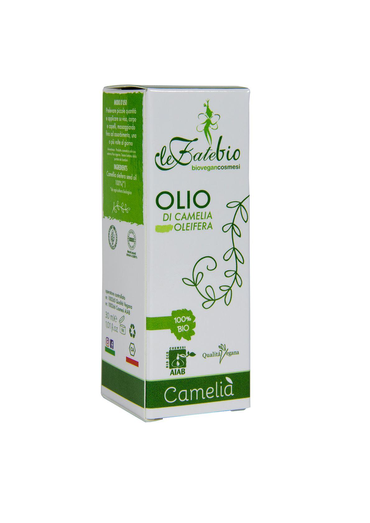 Le fate bio OLIO di Camelia 30 ml