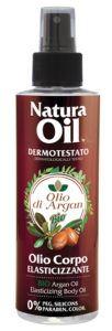 Nanì Suarez olio elasticizzante corpo con olio di argan bio
