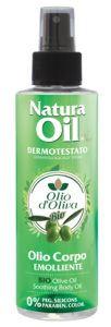 Nanì Suarez olio elasticizzante corpo con olio d'oliva bio