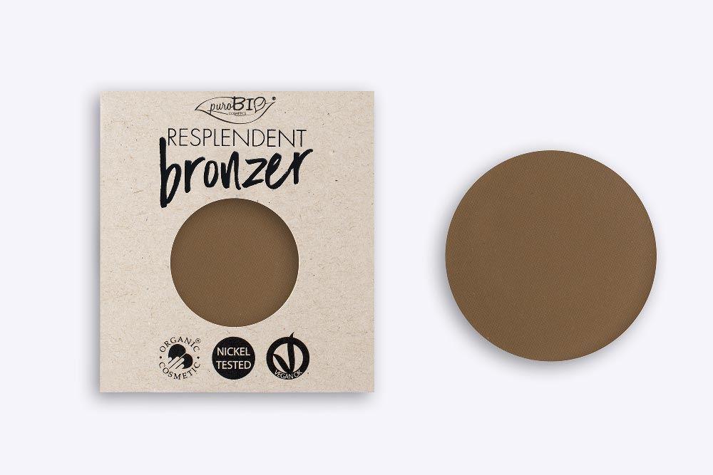 Purobio BRONZER 01 marrone pallido -refil