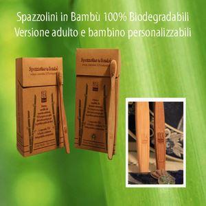 Tea Natura spazzolino da denti in bambù adulti