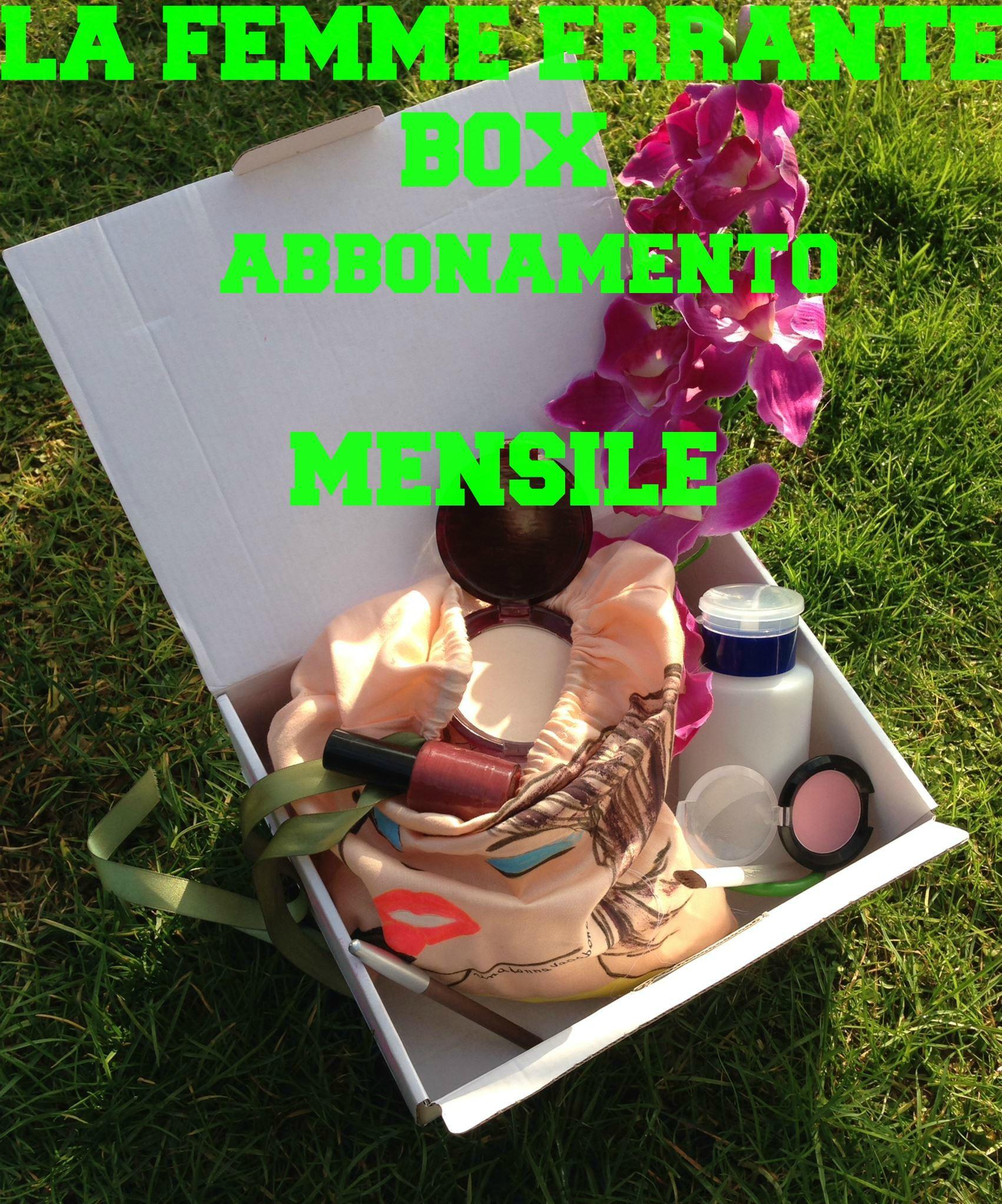 La femme errante BOX abbonamento MENSILE