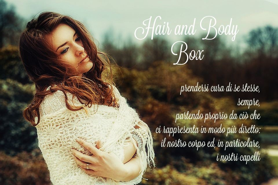 Hair & Body Bio Box Udv zone abbonamento trimestrale