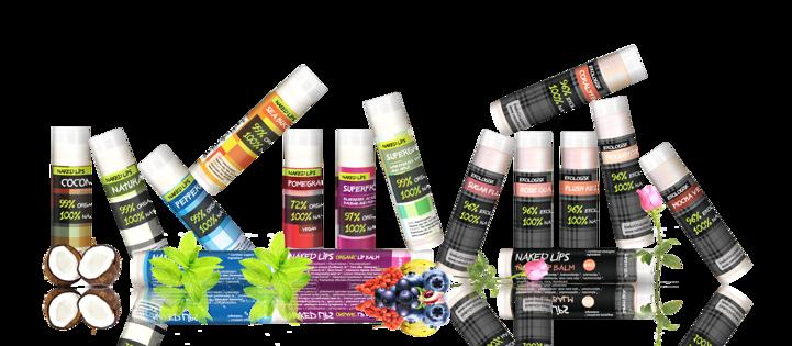 Naked lips 100% organic vari colori