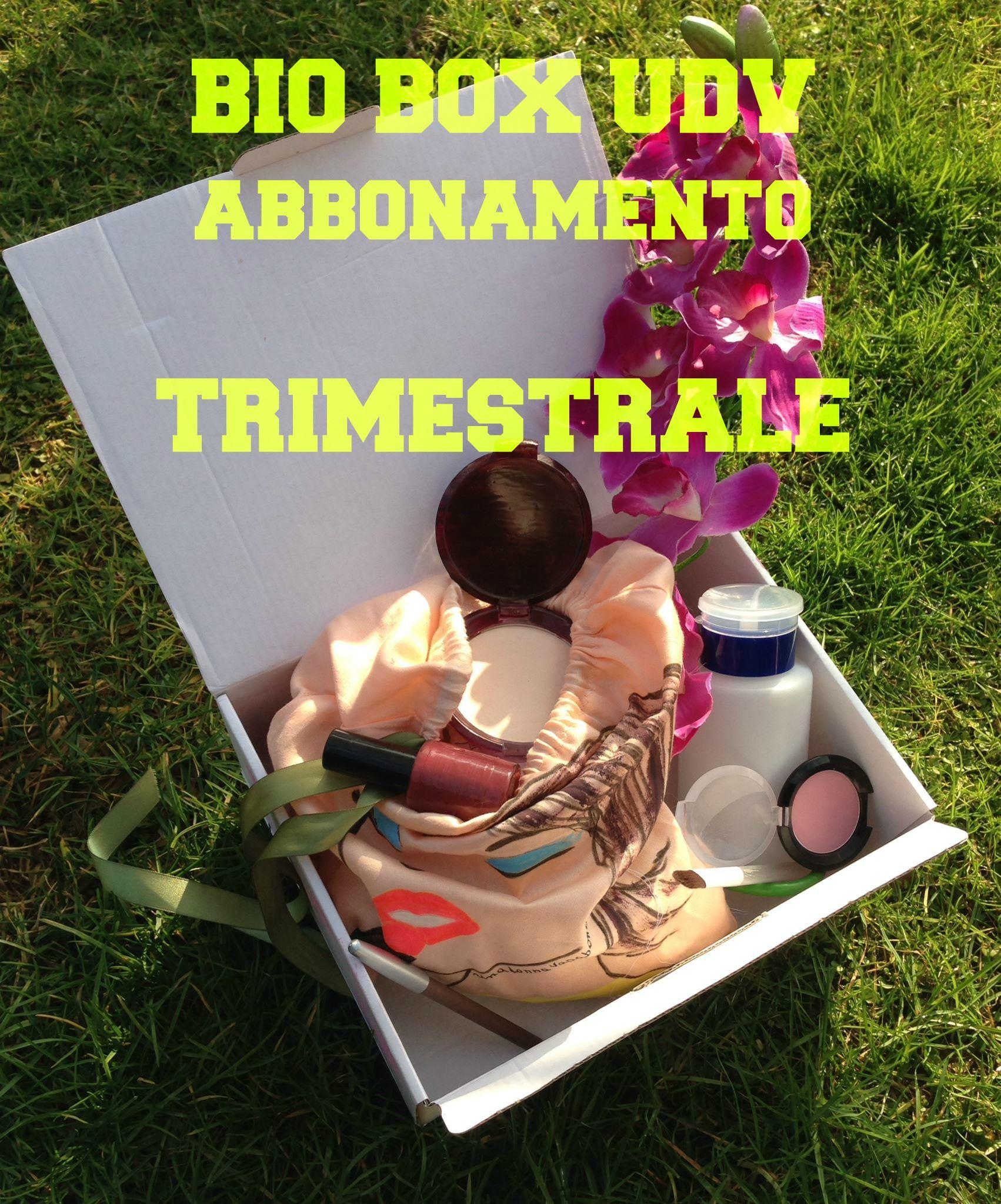 Una donna vagabonda BIO BOX abbonamento TRIMESTRALE