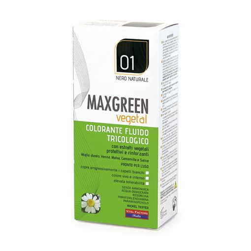 Max Green Vegetal 01 Nero Naturale