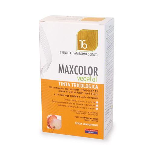 Max Color Vegetal 16 Biondo Chiarissimo Dorato