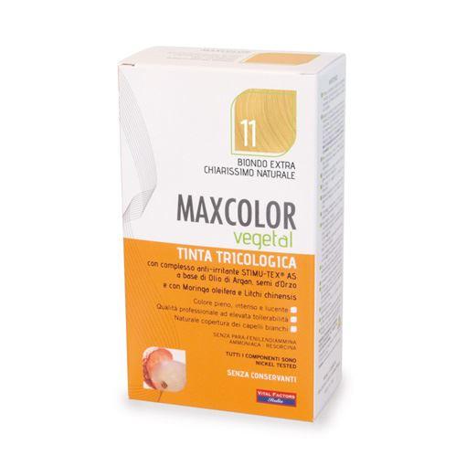 Max Color Vegetal 11 Biondo Extra Chiaro Naturale