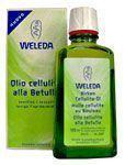 Weleda olio cellulite alla betulla 100ml